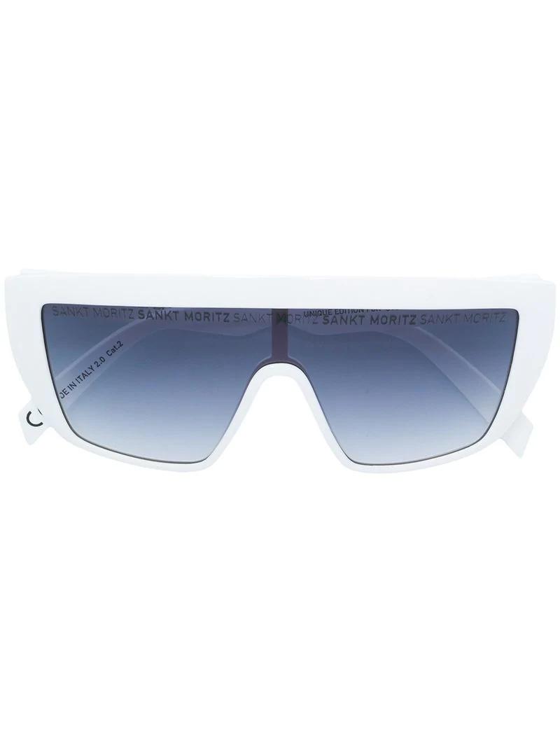 43ff03c78 Italia Independent Fusion Lens Sunglasses - White | ModeSens