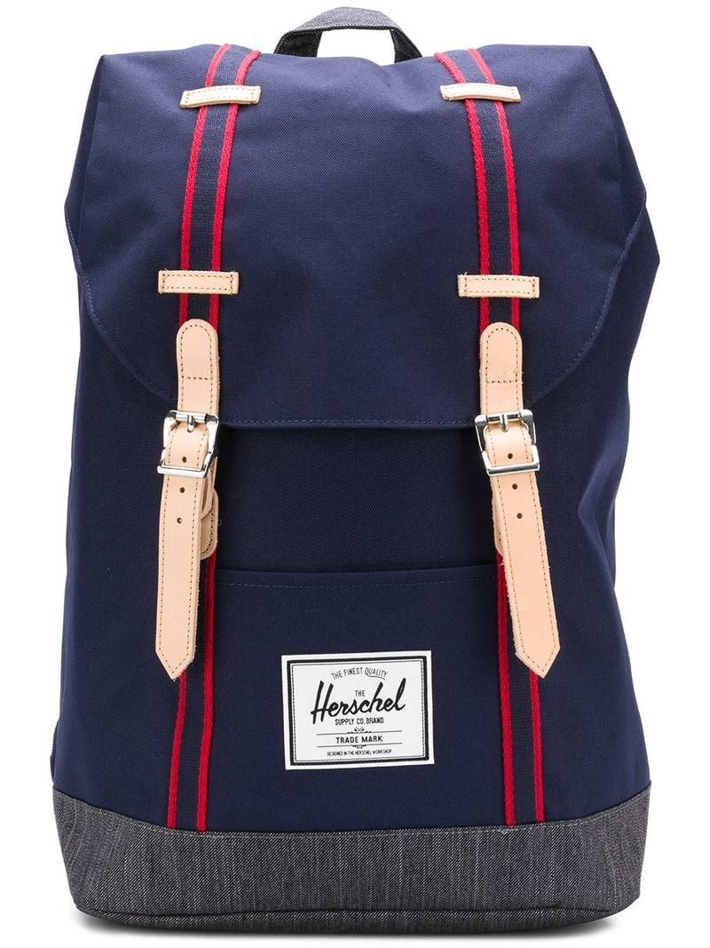 3d07cfb05cf Herschel Supply Co. Buckle Fastening Backpack In Blue
