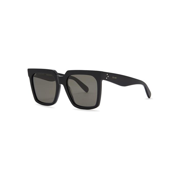 960f358c17 Celine Black Wayfarer-Style Sunglasses. Harvey Nichols