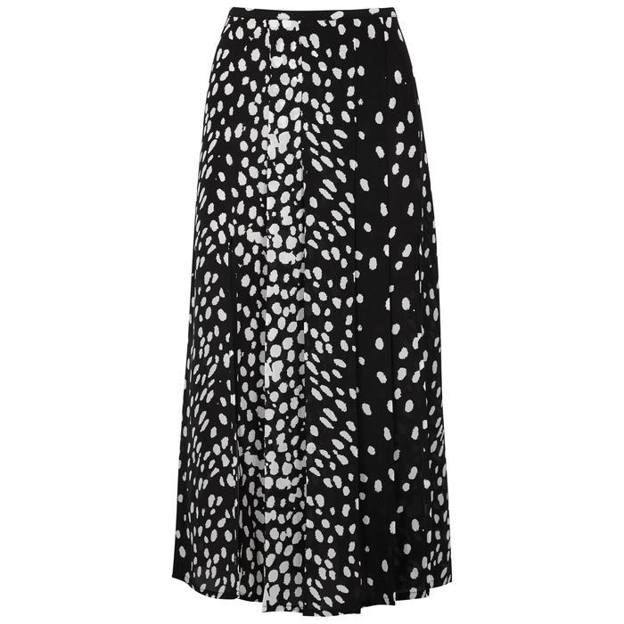 c1fb5c8287a1 Rixo London Georgia Leopard-Print Silk Skirt | ModeSens