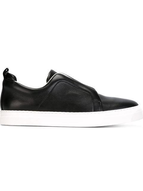 Pierre Hardy 'Slider' Slip-On Sneakers In ブラック
