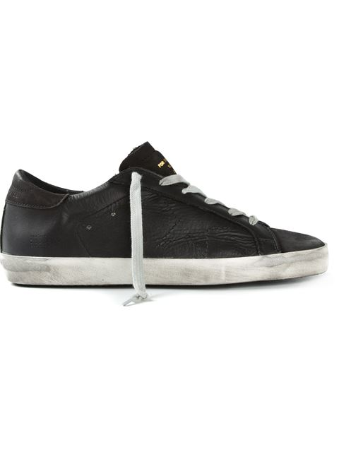 Golden Goose Perforated Star Sneakers