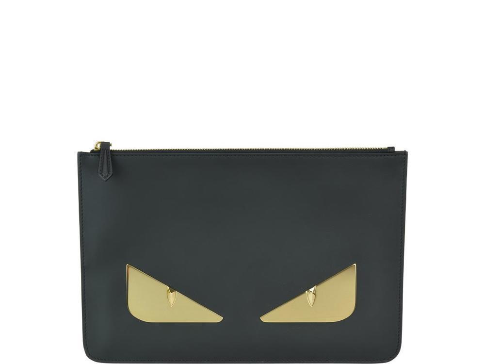 b25f40784e73 Fendi Bag Bugs Clutch Bags In Gold. CETTIRE