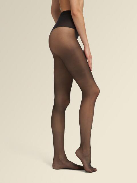 Donna Karan Evolution Ultra-Sheer Tights In Black