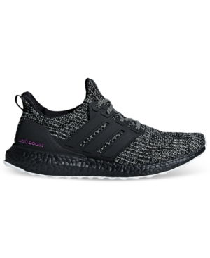 Adidas Originals Adidas Men's Ultraboost Bca Running Sneakers From Finish Line In Cloud White/core Black