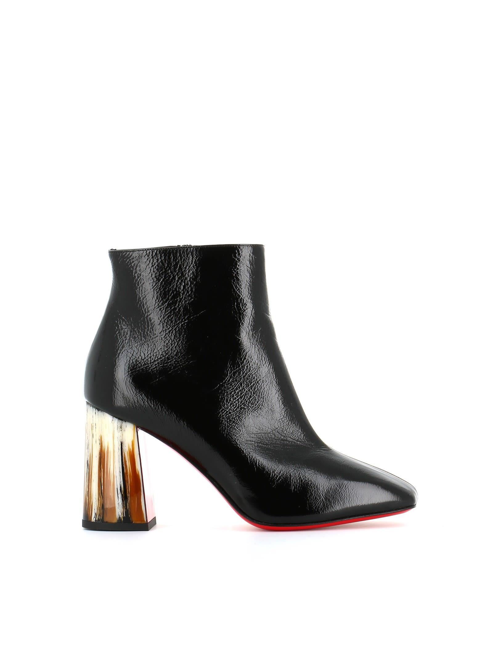09dcb1c7123 Christian Louboutin Black Patent Leather Hilconico