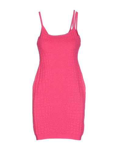 Moschino Cheap And Chic Short Dress In Fuchsia