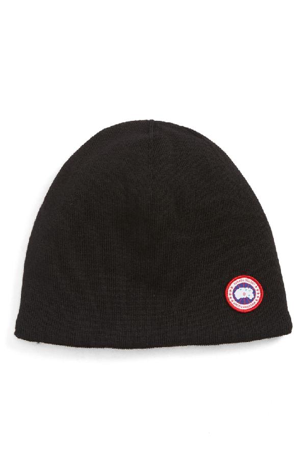 dc03779b Men's Standard Logo Toque Winter Beanie Hat in Black