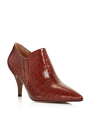 cb2951e2371a Tory Burch Women s Georgina Pointed Toe Leather High-Heel Booties In ...