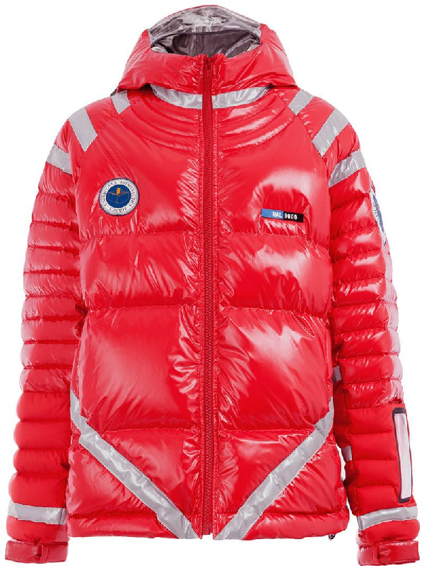 Undercover Red Down Astronaut Puffer Jacket