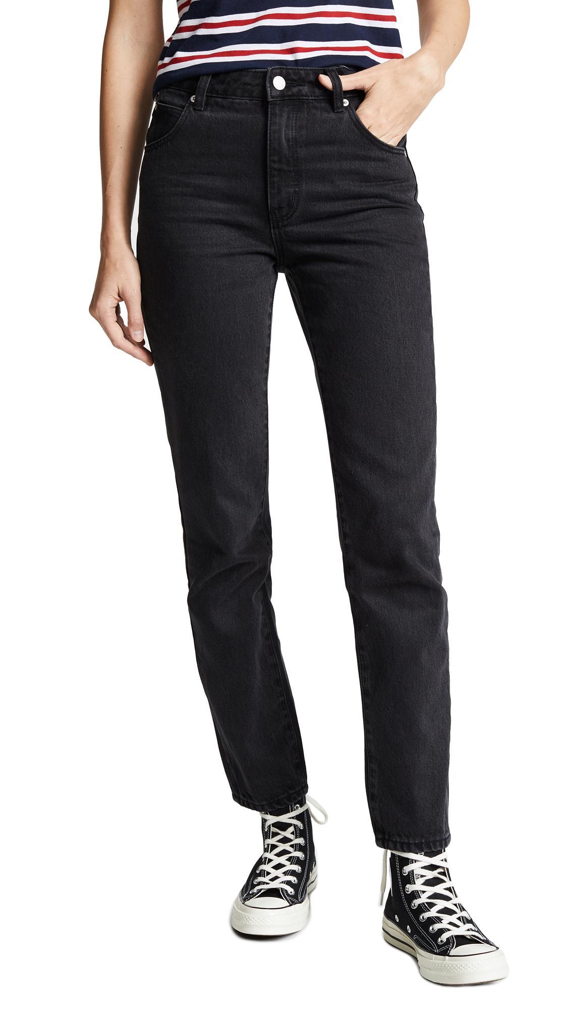 fd5fdd57d0 Rolla's Miller Skinny Jeans In Chrissy Black | ModeSens
