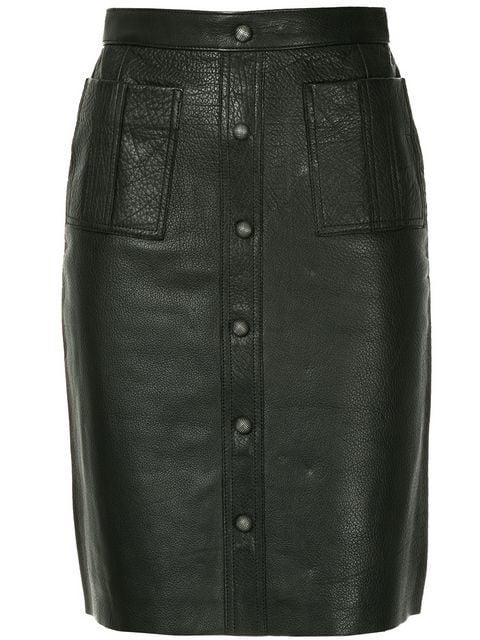 Aje Martin Midi Skirt In Black