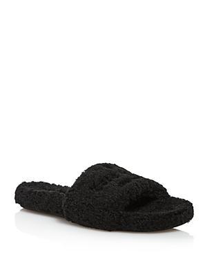 b2126da8256f Kate Spade New York Women s Thalia Open Toe Slide Sandals In Black ...