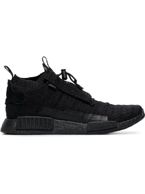 b63620eee4bf5 Adidas Originals Adidas Black Nmd Ts1 Pk Gore-Tex Primeknit Sneakers ...