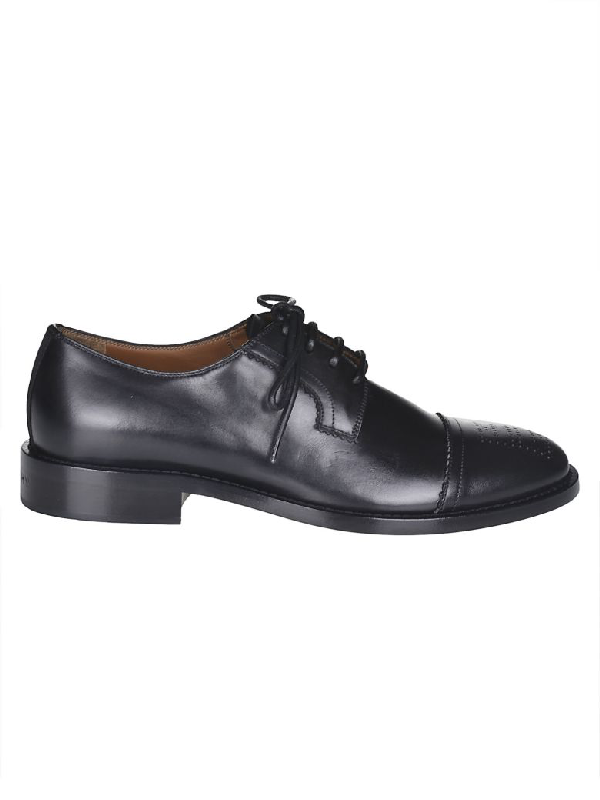 Givenchy Toe-Capped Oxford Shoes In Black