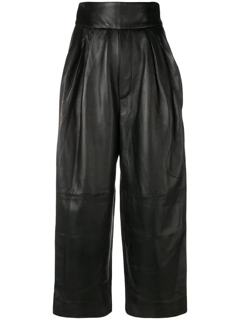 Marc Jacobs High Waisted Trousers In Black