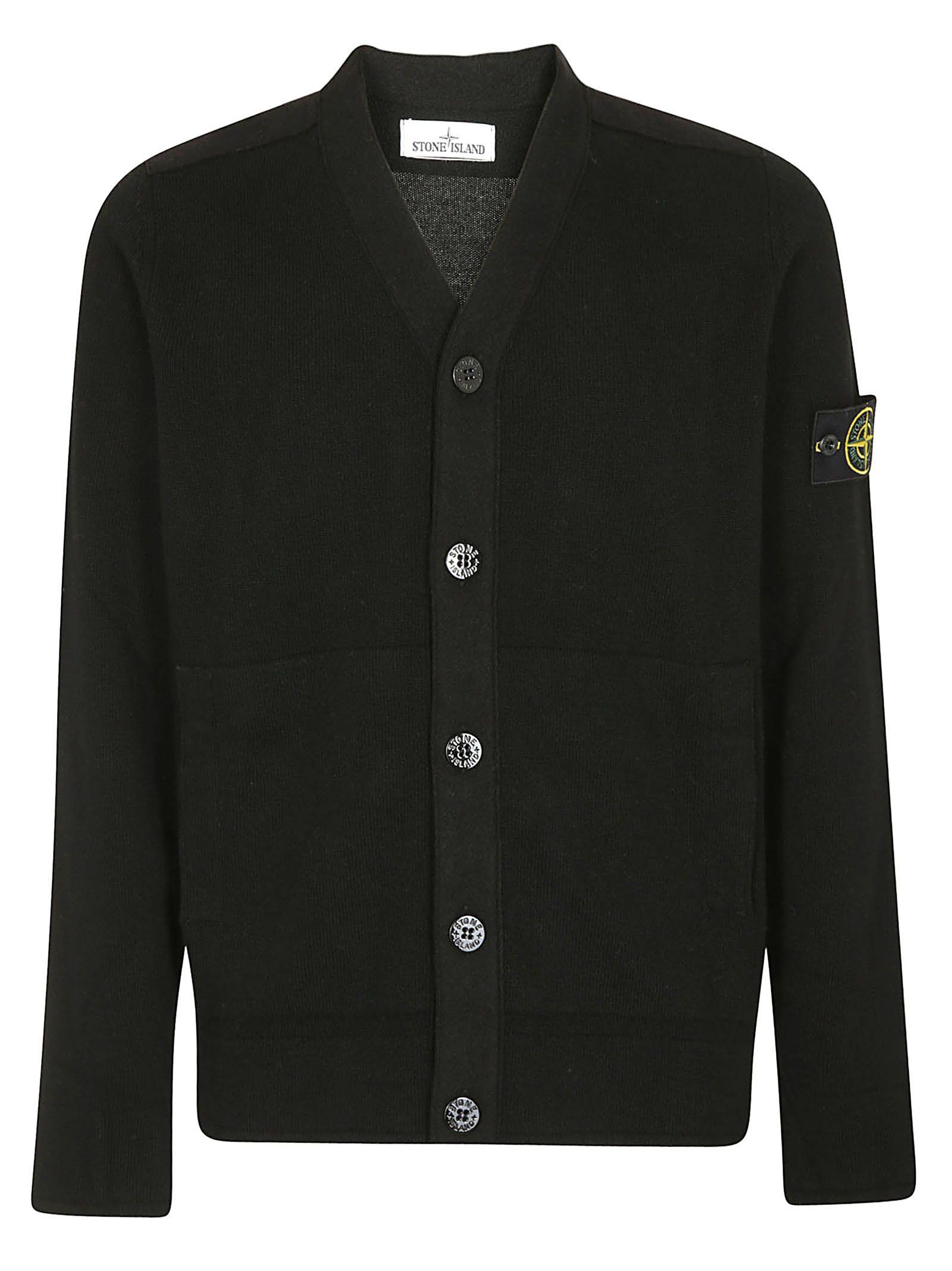 fef74063ee2 Button-Up Cardigan in Black