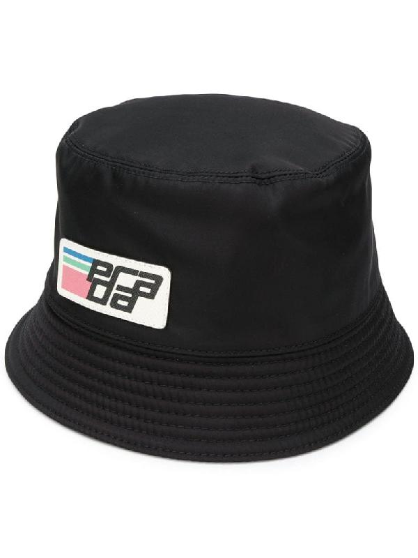 82c1b1041b5a Prada - Nylon Bucket Hat - Womens - Black | ModeSens