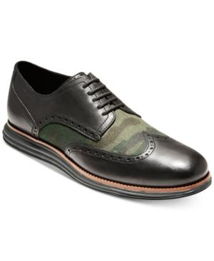 d625ed2ab62 Men's Original Grand Shortwing Oxfords, Created For Macy's Men's Shoes in  Camo/ Black