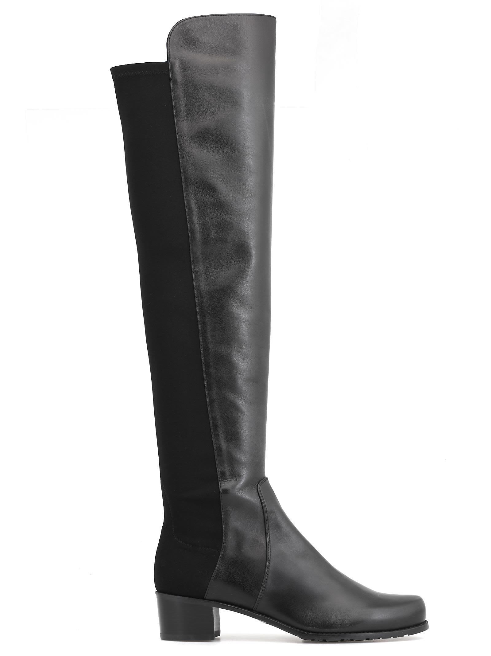 best sneakers order fashion Stuart Weitzman Reserve Boot In Black | ModeSens
