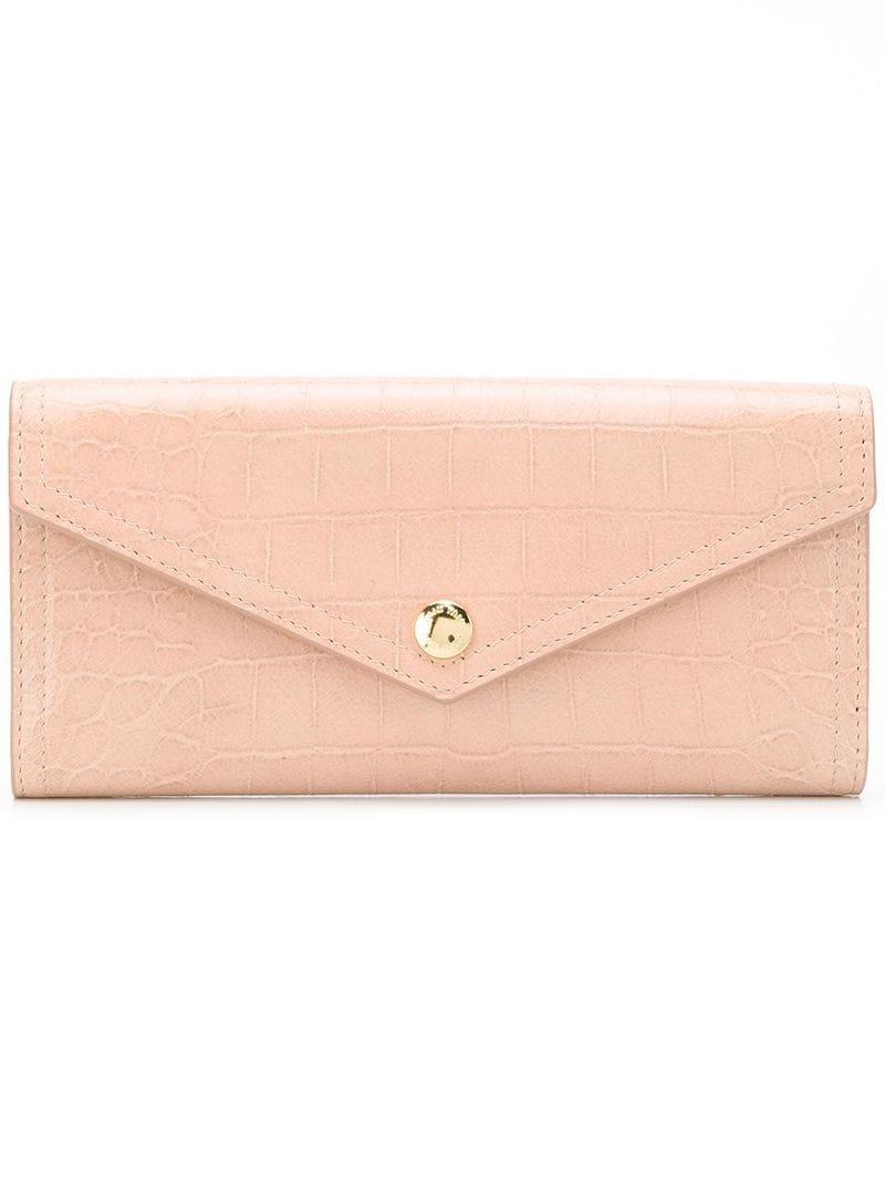 481815b43ca Miu Miu Envelope Wallet - Pink In Pink   Purple