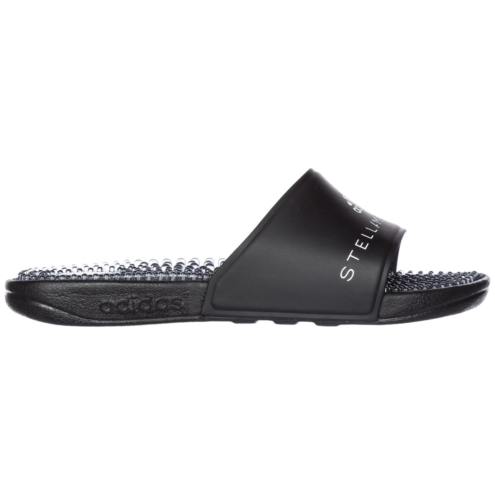 2f119f66d Adidas By Stella Mccartney Women s Rubber Slippers Sandals Adissage W In  Black