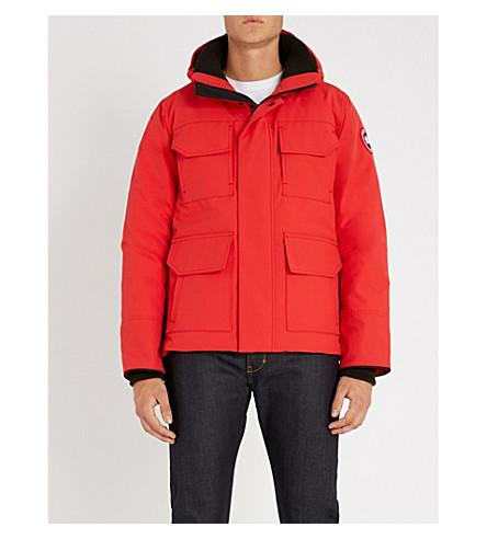 674df899d Canada Goose Maitland Hooded Shell Parka Jacket In Red - Rouge ...