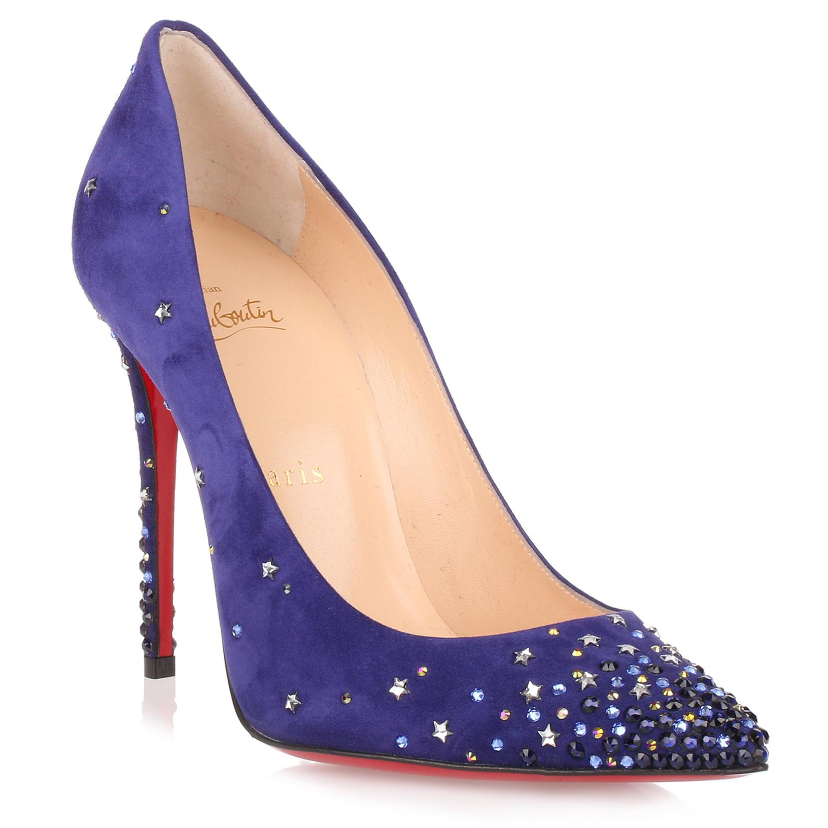 detailed look d15ef 0e052 Gravitanita 100 Purple Suede Pump