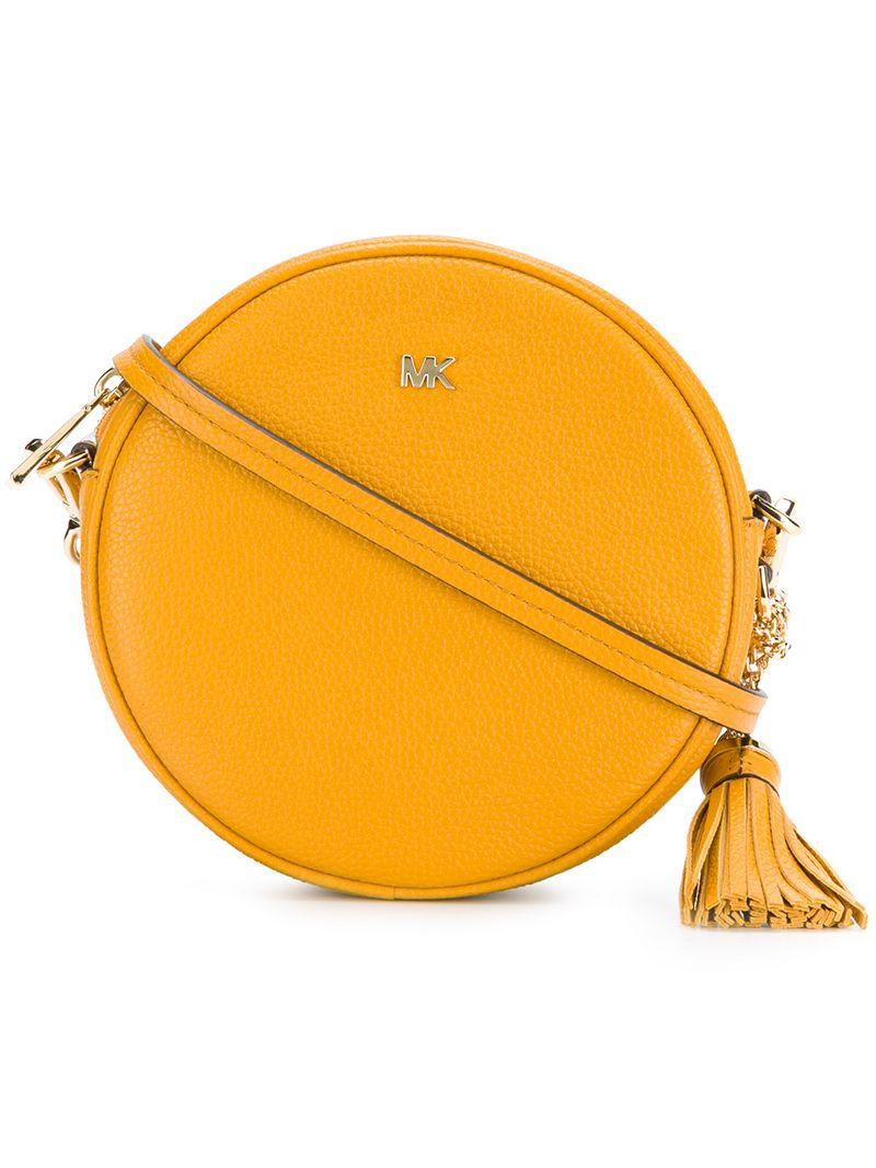 5484ddcc1c50 Michael Michael Kors Canteen Crossbody Bag - Orange | ModeSens