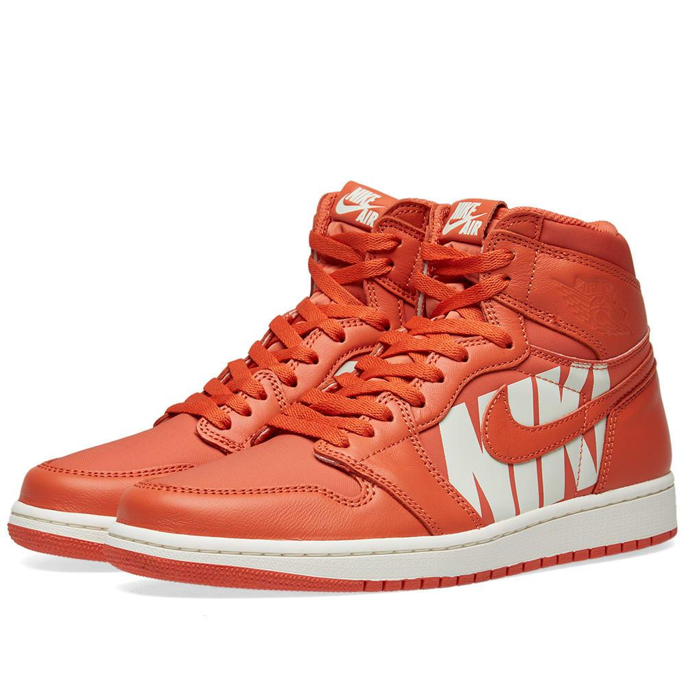 best loved 4f97c 7c5f2 Nike Air Jordan 1 Retro High Og In Orange