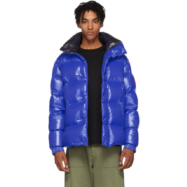 271bd6a2e 2 Moncler 1952 Dervaux Quilted Shell Down Jacket in 1-709.Blu