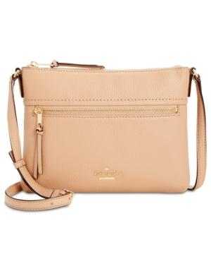 Kate Spade Jackson Street - Gabriele Leather Crossbody Bag - Brown In  Ginger Tea cb562057d93e0