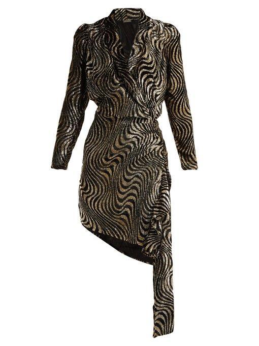 Dodo Bar Or Ida Dress.Dodo Bar Or Ava Asymmetric Polka Dot Fil Coupe Dress Womens