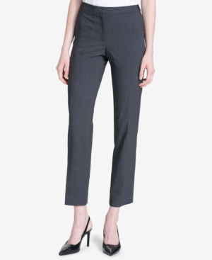 Calvin Klein Highline Skinny Pant In Charcoal