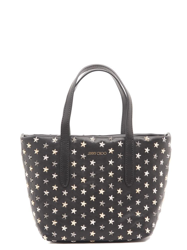 226ea4b2d Jimmy Choo Mini Sara Tote Bag In Black | ModeSens