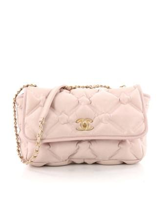 ba30401973c4 Chanel Pre-Owned: Chesterfield Flap Bag Quilted Calfskin Jumbo In ...