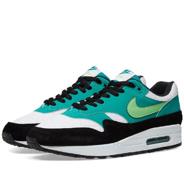 Men's Air Max 1 Low Top Sneakers in Green