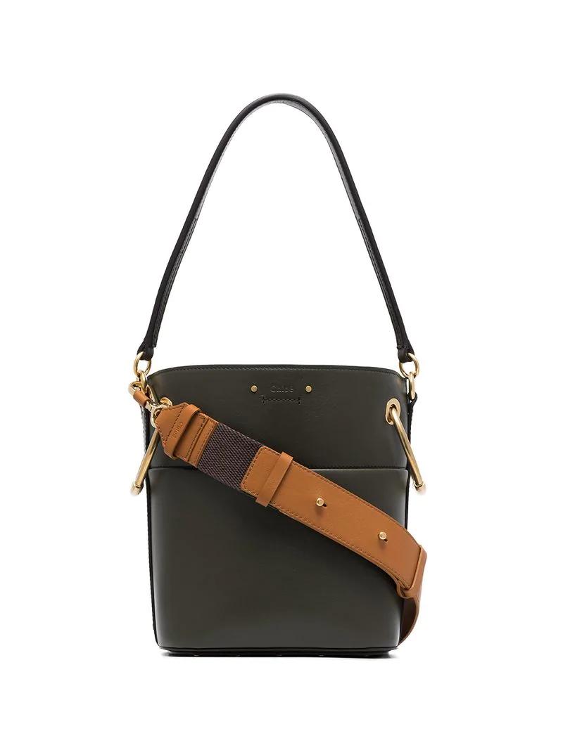 1806e5a81b ChloÉ Chloe Green Medium Roy Bucket Bag
