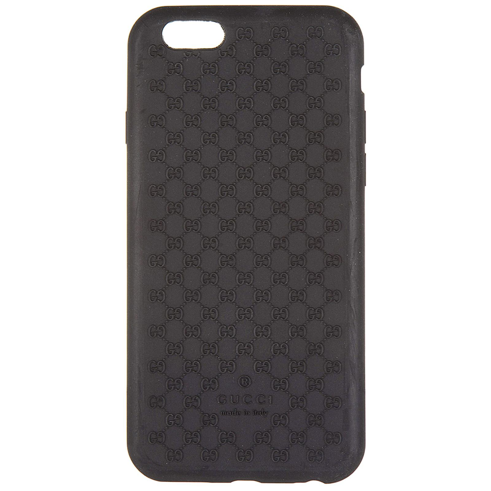 enorme sconto cf9f9 e0e7d Cover Case Iphone 6 6S In Soft Rubber in Black