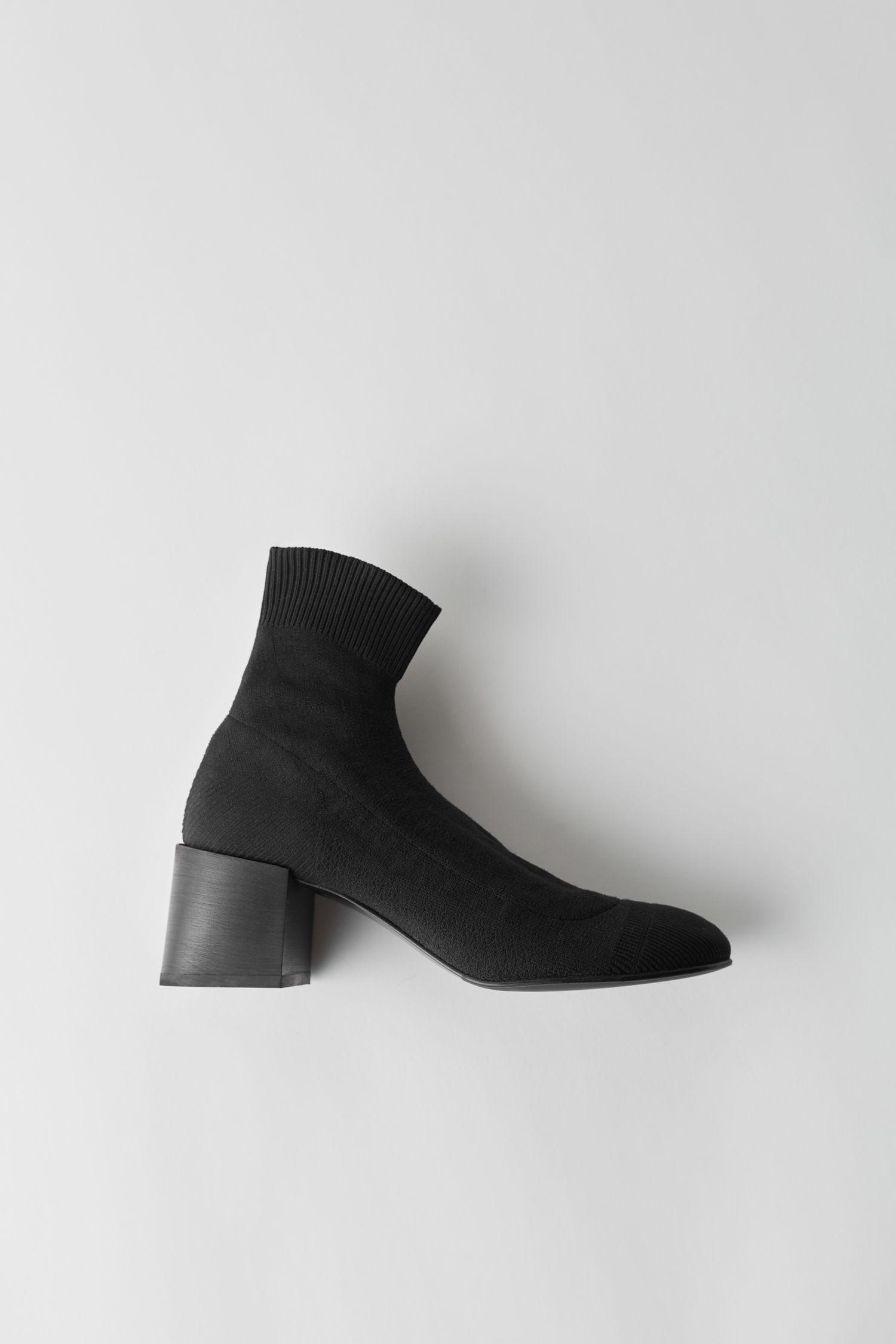 6e1179c148c Acne Studios Knitted Sock Boot Black