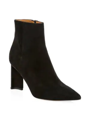 09f2fb11357 Katia Suede Ankle Bootss in Black