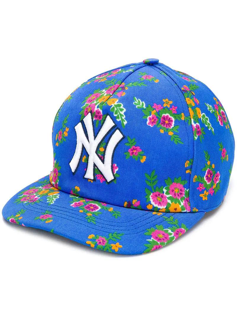 553d0d33042 Gucci Ny Yankees™ Baseball Cap - Blue