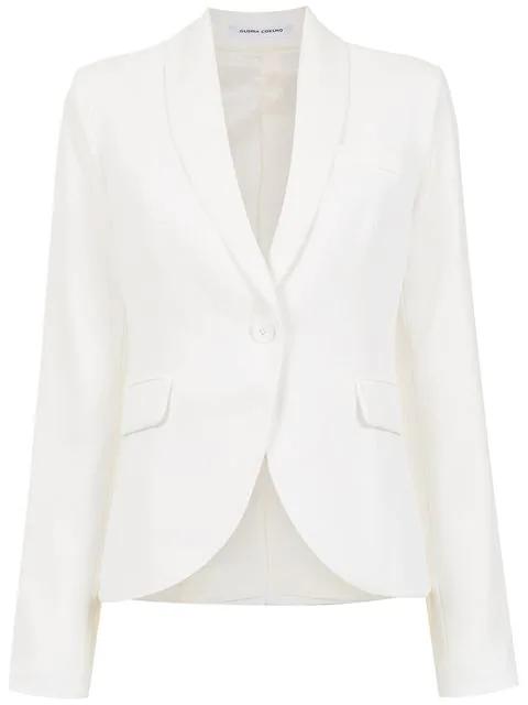 Gloria Coelho Tuxedo Blazer In 3221