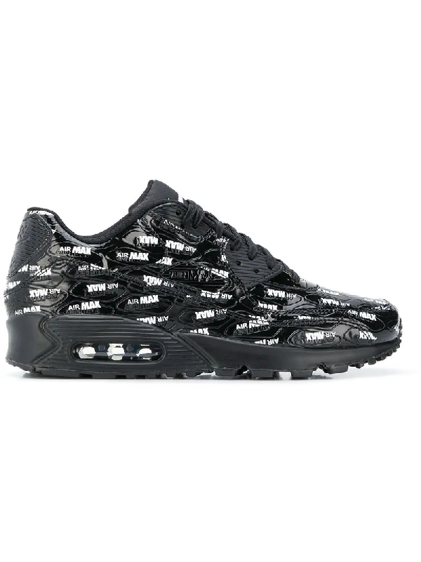the best attitude e94de 128e7 Nike Men s Air Max 90 Premium Casual Shoes, Black