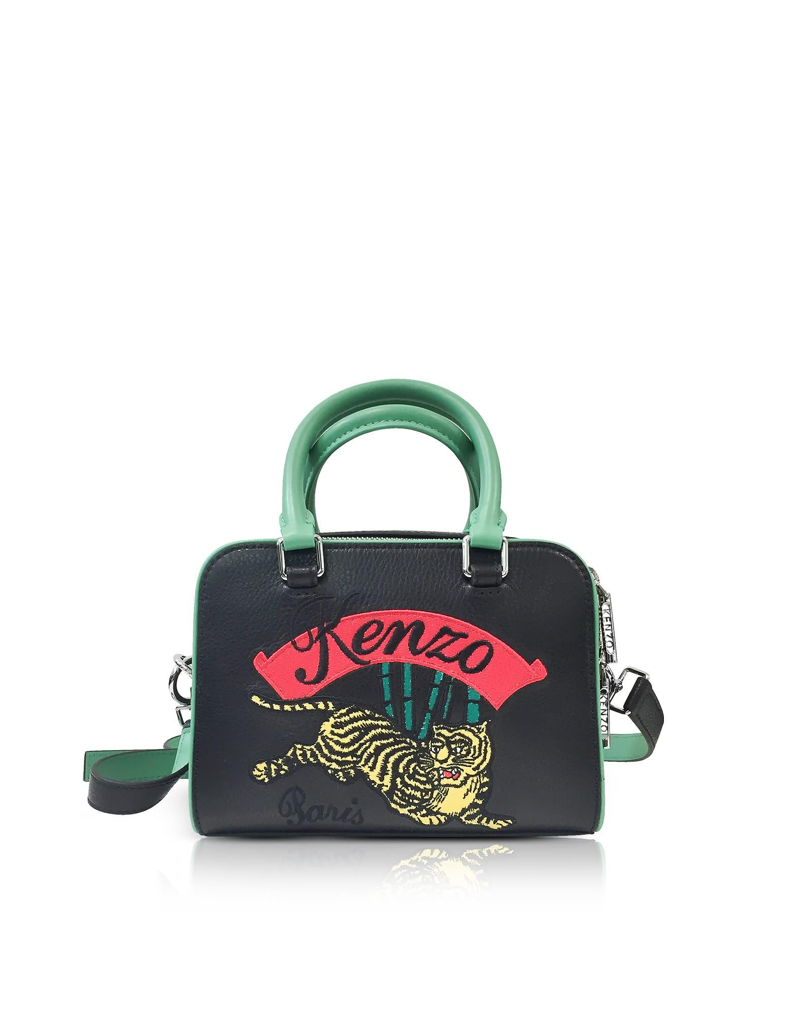 b7f1d436f39 Kenzo Jumping Tiger Small Crossbody Bag In Black | ModeSens