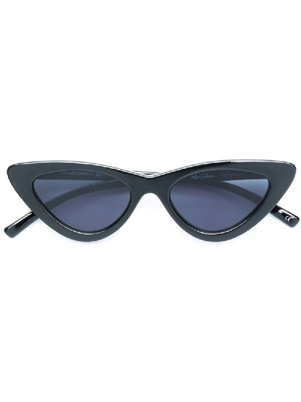Le Specs X Adam Selman Last Lolita 49Mm Cat Eye Sunglasses - Black