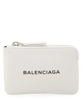 Balenciaga Everyday Small Leather Pouch In Nocolor