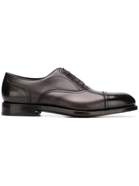Salvatore Ferragamo Classic Oxford Shoes - Black