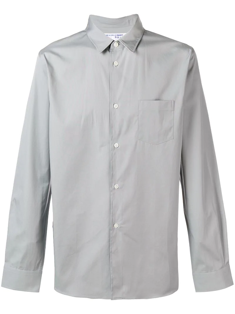 50cd01a01f Comme Des GarÇOns Shirt Boys Boys Shirt - Farfetch In Grey | ModeSens