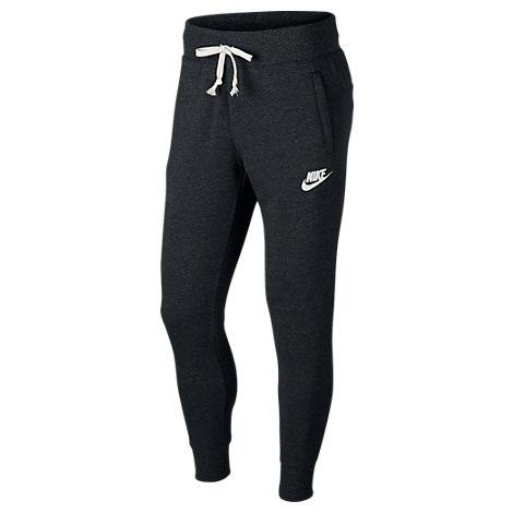 83ae7e3d2 Nike Sportswear Heritage Slim-Fit Tapered Loopback Cotton-Blend Jersey  Sweatpants - Black In